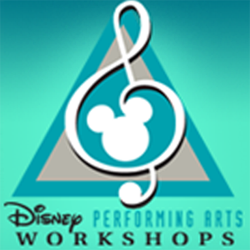 Disney performing arts workshop logo