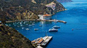 Harbor of Catalina Island