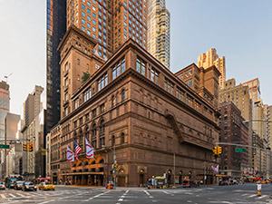 carnegie hall performance tours