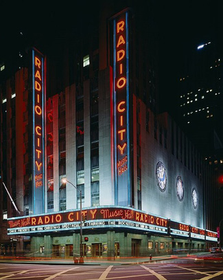 New york city performance tours radio city hall
