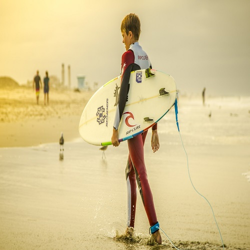 student surfer
